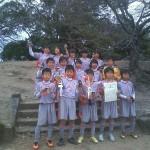 優勝した小笹サッカー少年団